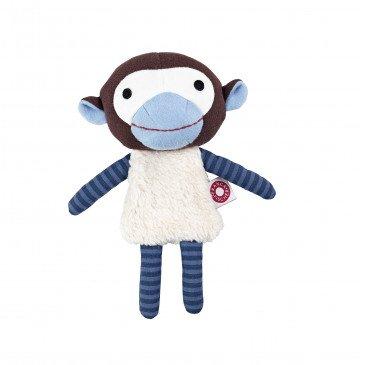 Doudou Trisse le singe en Coton Biologique | www.marelleetcaramel.com