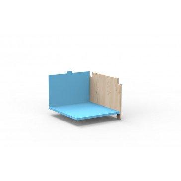 Kit de Réhausse Latéral pour Penderie Évolutive Montessori Finition:L.BU AZ