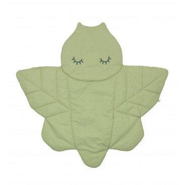 Tapis de jeu Alma vert en Coton Biologique | www.marelleetcaramel.com