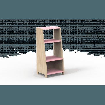 Étagères Évolutives une Colonne Bois Montessori Finition:L.RO TC