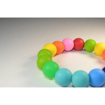 Bracelet bijou de dentition et de portage - Multicolore
