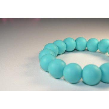 Bracelet bijou de dentition et de portage - Turquoise