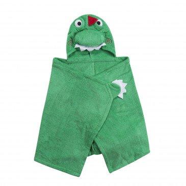 Serviette de bain enfant Devin le dinosaure | www.marelleetcaramel.com