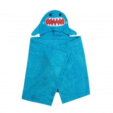 Serviette de bain enfant Sherman le requin | www.marelleetcaramel.com