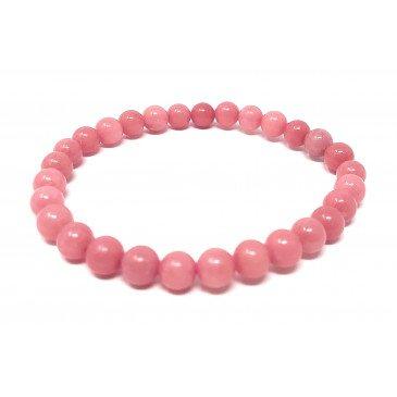 Bracelet Adulte pierre naturelle - Quartz Rose