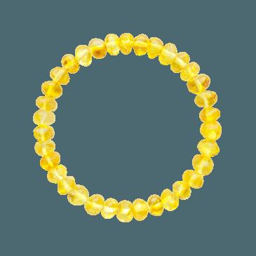 Bracelet Adulte Ambre - Lemon