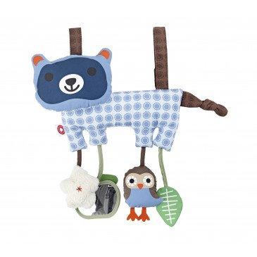 Jeu d'éveil Hasse le raton-laveur en Coton Biologique | www.marelleetcaramel.com