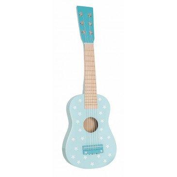 Guitare bleue | www.marelleetcaramel.com