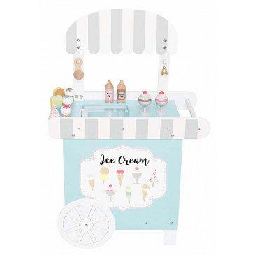 Boutique crèmes glacées bois | www.marelleetcaramel.com
