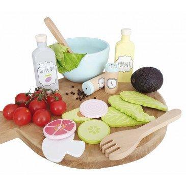 Set salade bois | www.marelleetcaramel.com