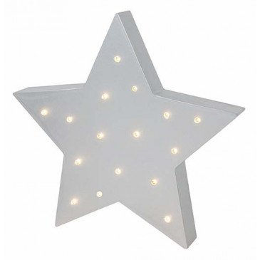 Lampe à LED étoile | www.marelleetcaramel.com