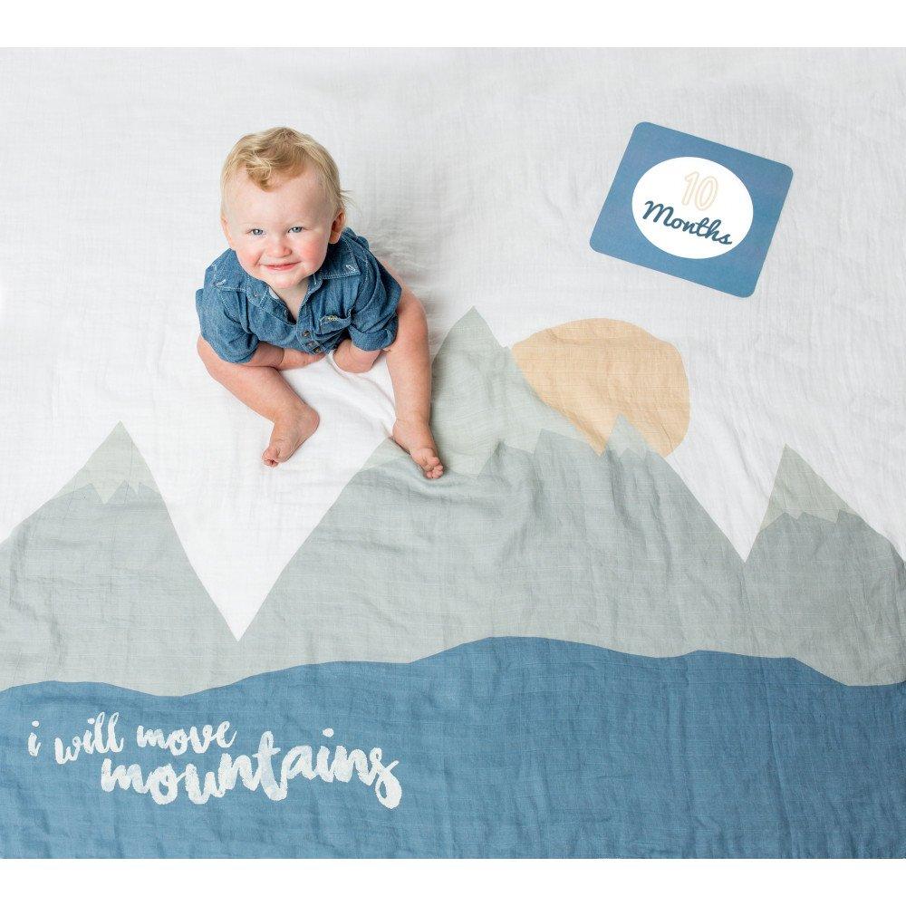 "Lange en coton & cartes ""I will move mountains"" | www.marelleetcaramel.com"