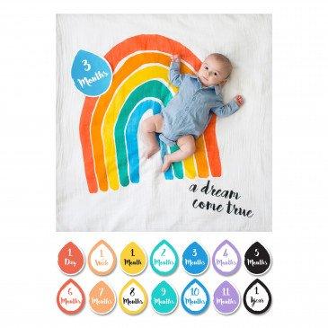 Lange en coton & cartes A dream come true | www.marelleetcaramel.com